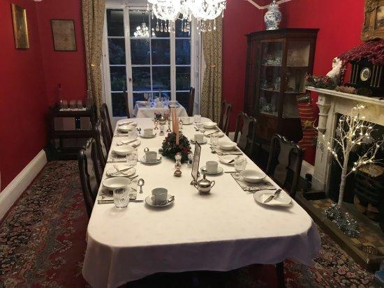 Plas Gwyn B&B & Cottage: the breakfast room!