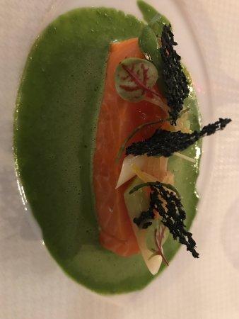 Cande-sur-Beuvron, France: Très belle présentation des plats
