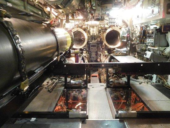 USS Requin: Torpedo Room