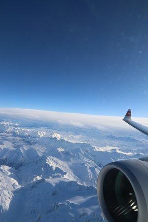 Swiss International Air Lines: le Alpi