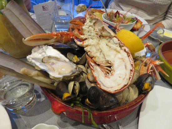 Lochleven Seafood Cafe: Shellfish Platter for One!