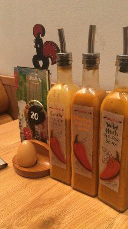 Nando's Tahlia Street  Branch Riyadh: Sauces