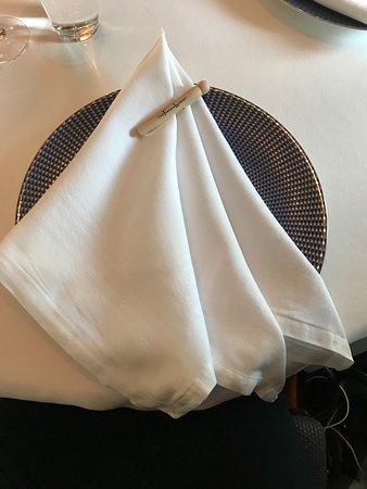 The French Laundry: Iconic napkins