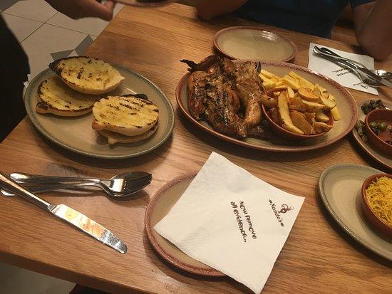 Nando's Tahlia Street  Branch Riyadh: Full Chicken with Sides