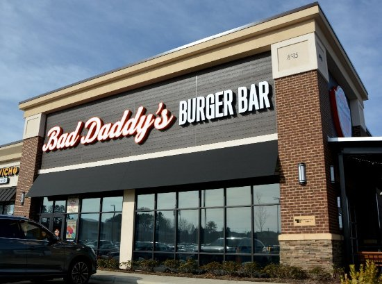foto de bad daddy 39 s burger bar concord entrance tripadvisor. Black Bedroom Furniture Sets. Home Design Ideas