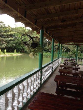 Hotel Villa De Ada: This is where we ate breakfast