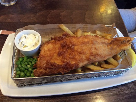 Slug & Lettuce: Fish and chips