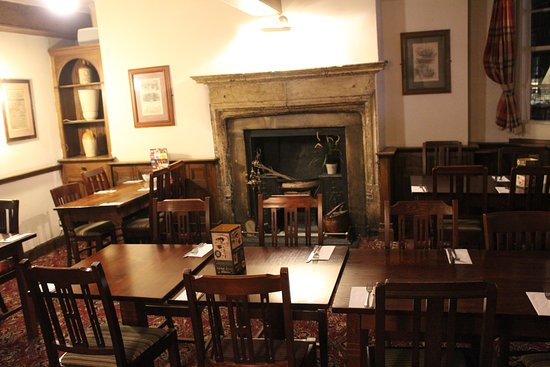 Brewers Fayre Llandoger Trow: Basic but comfortable seating