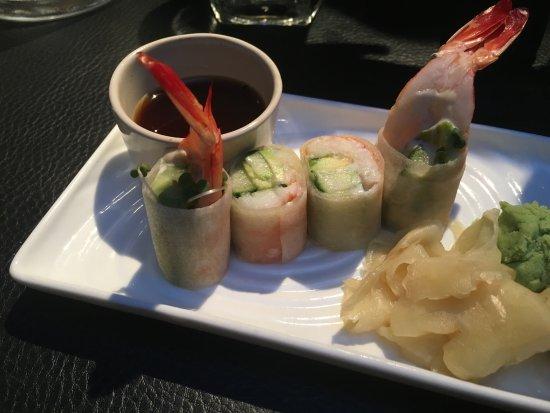 Sticks'N'Sushi Covent Garden: Shrimp Rolls