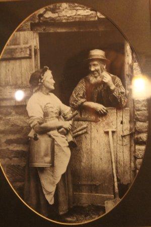 Brewers Fayre Llandoger Trow: History on walls