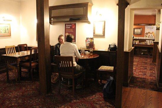 Brewers Fayre Llandoger Trow: Warm and comfortable interior