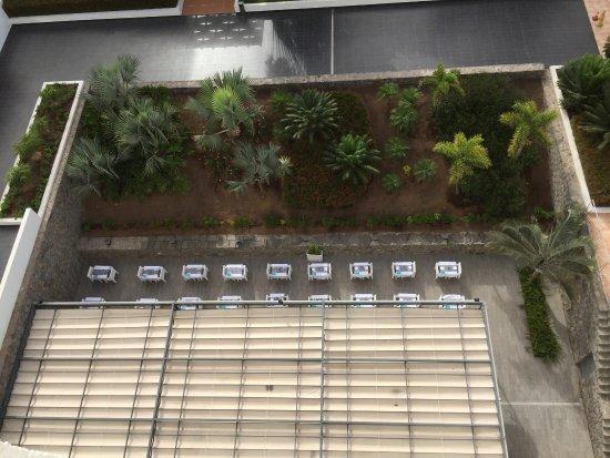Gran Canaria Princess: Vue de la chambre sur la terrasse