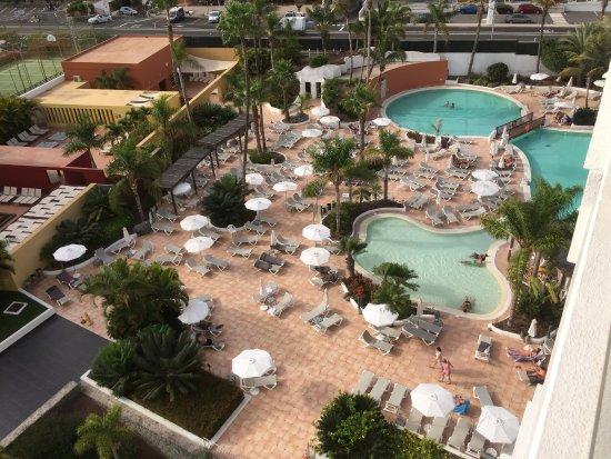 Gran Canaria Princess: Piscine vue de la chambre