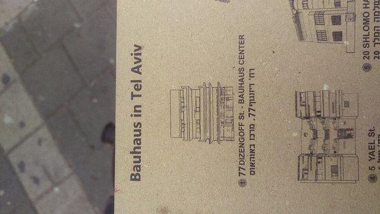 מרכז באוהאוס תל אביב: Bauhaus Centre walking tour