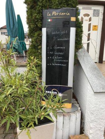 Schriesheim, Germany: Hinweistafel