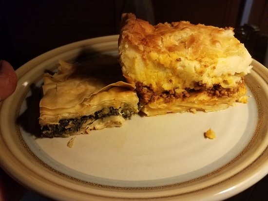 Town and Country, MO: Pastitio and Spanikopita