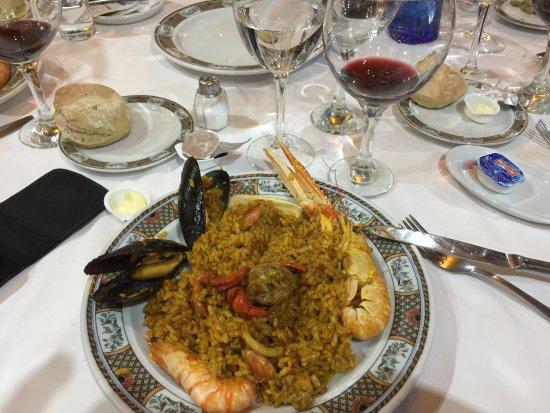Paella foto di restaurante casa de valencia madrid tripadvisor - Restaurante casa de valencia ...