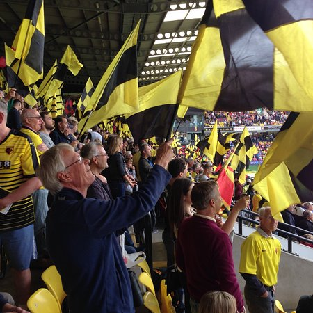 Watford, UK: Vicarage Road Stadium