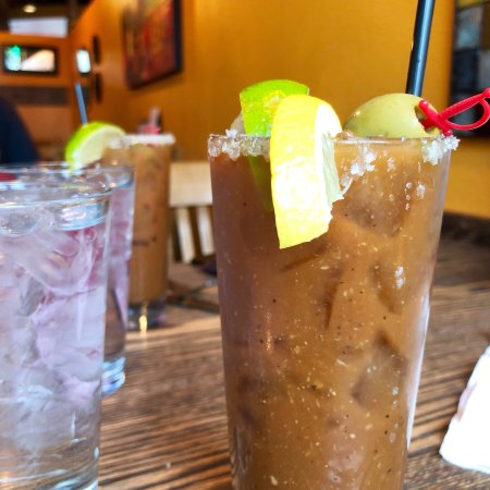Camas, WA: Perfectly prepared bloody Mary