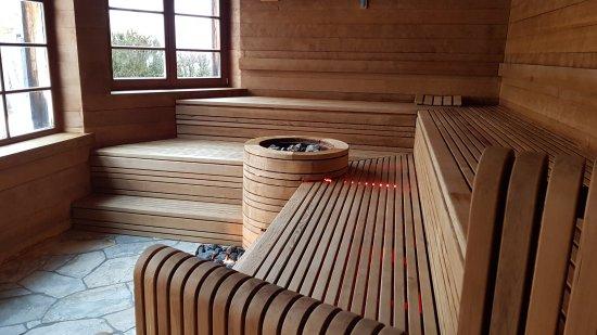 ADLER Spa Resort DOLOMITI: Sauna Panoramica