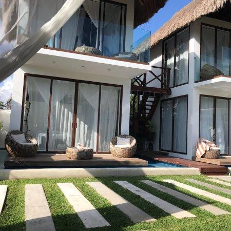 Cabanas luxury bacalar mexique voir les tarifs et for Hotel luxury villas bacalar