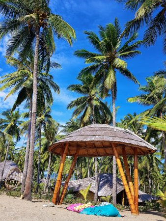 Coconut Garden Beach Resort: Beach