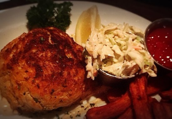 Shoemakers American Grille: Shoemakers Signature Crab Cake