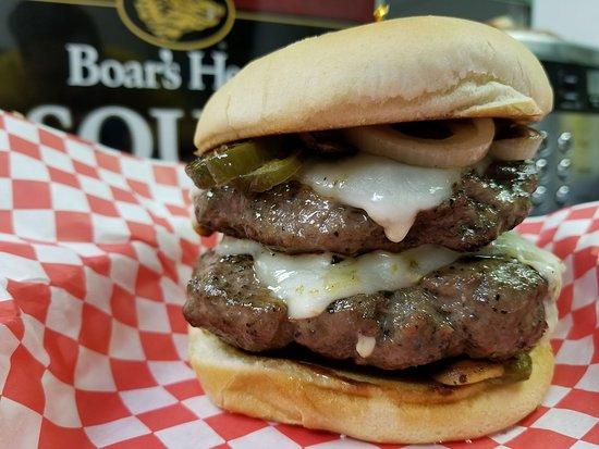 Willis, Teksas: The Winnebago Burger