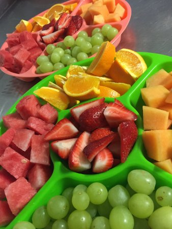 Clowning Around Playcentre: Kids Party Fruit Platters