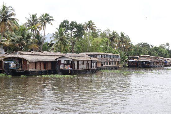 Alleppey Backwater Tours: Houseboats