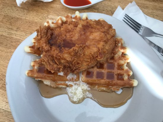 Iron Dog: Chicken and Waffles