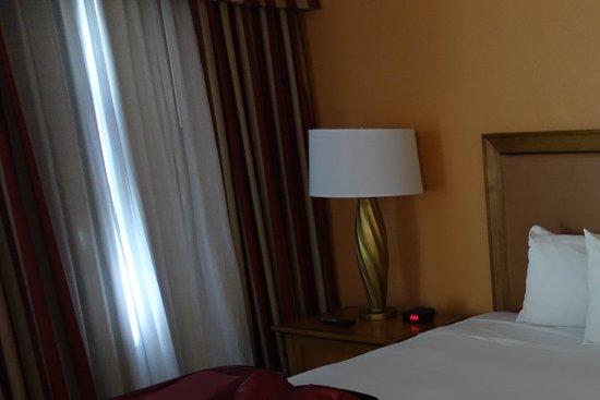 Billigt nerslitet hotel