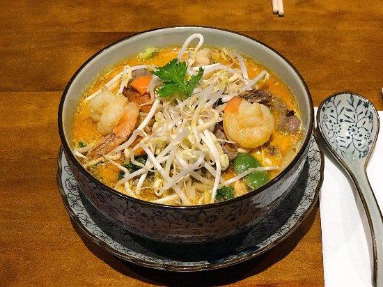 Dragon Bay Asian Fusion: Combination Laksa Noodle Soup