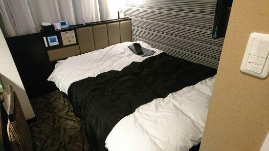 APA Hotel Fukushima Ekimae: ダブルベッドルーム