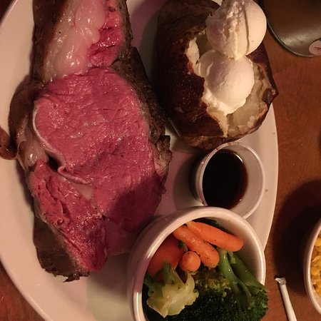 Texas Roadhouse: Prime rib.