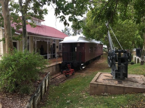 Barcaldine, Australië: Kunwarara Railway Station and Carriage - Australian Workers Heritage Centre