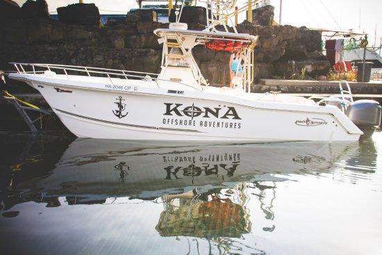 Καϊλούα-Κόνα, Χαβάη: Our boat is very stable double hauled, enjoying a smooth ride.