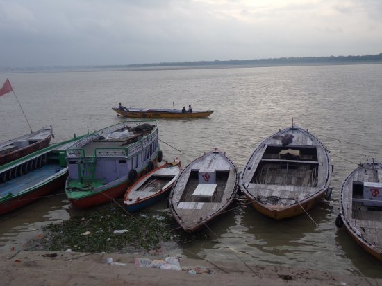 Baba Guest House: Amanecer sobre el Ganges