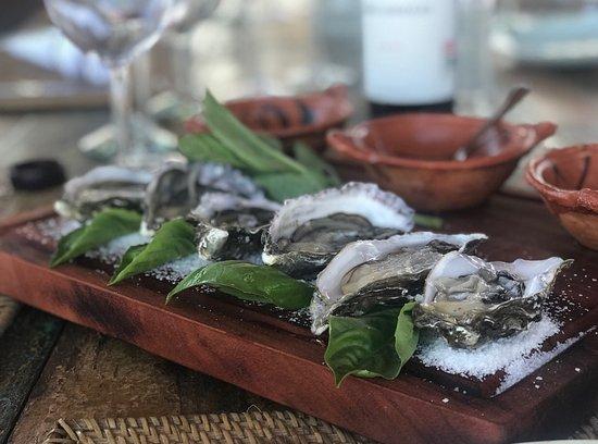 Garden Restaurant: Sunday Lunch Oysters