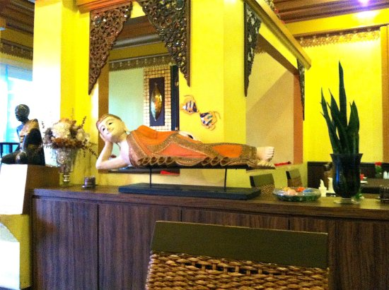Thai House: The Buddha was watching over me.
