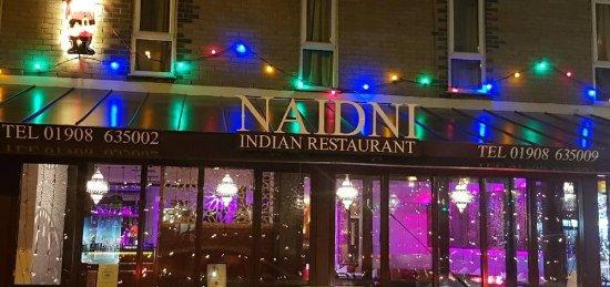 Naidni Indian Restaurant: new sign
