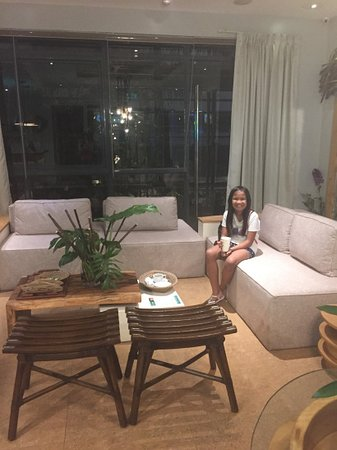 the receiving area - Picture of Z Spa, Pasig - TripAdvisor on house storage area, house service area, house warehouse, house reading area,