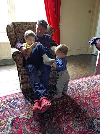 House of Mark: Host Ian entertaining both our little ones