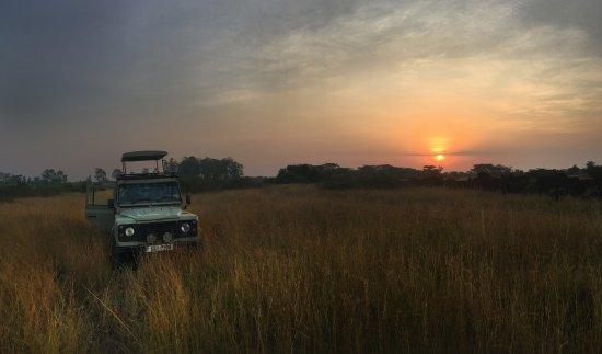 Little Elephant Camp: Sunrise before game drive