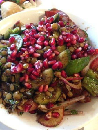 Eddies Lebanese Eatery: Lentil and Pomegranate Salad