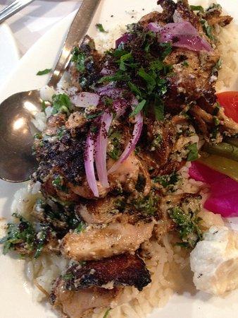 Eddies Lebanese Eatery: Lemon and Garlic Chicken