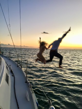 Sailing Adventures Miami: Guest leaving the boat at the wrong time.