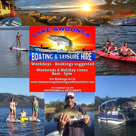 While staying in Tannum Sands why not visit Lake Awoonga Boating & Leisure Hire, less than half