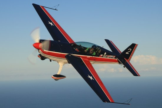 Marcoola, Australia: The  Ultimate Thrill Ride - in our awesome Extra 300 stunt plane