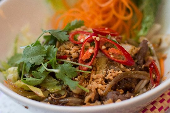Jack Glockenbach: Vietnam Nudeln mit Kräutern